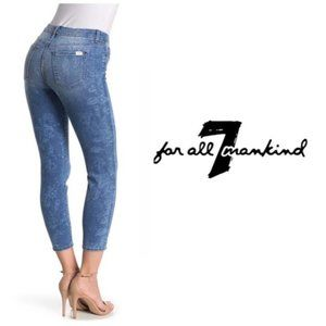 Jen7 by 7 For All Mankind Ankle Skinny Jeans Sz 16